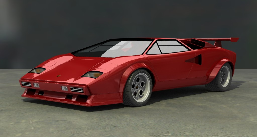 vehicle lamborghini countach update page 3. Black Bedroom Furniture Sets. Home Design Ideas