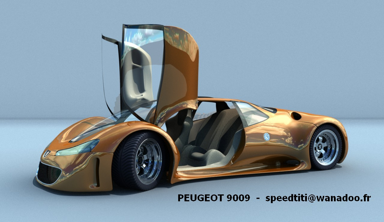 Peugeot 9009 ... WOW