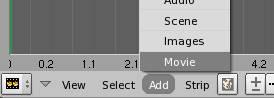 importer une séquence dans le séquenceur